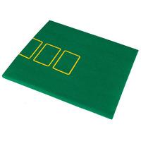 Сукно для покера с разметкой на 9 игроков 180х90х0,2 см