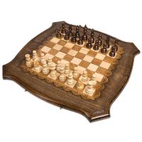 Шахматы + Нарды резные ручной работы 60 см, Грачия Оганян