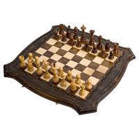 Шахматы + Нарды резные ручной работы 50 см, Грачия Оганян