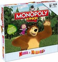 """Настольная игра """"Монополия Junior. Маша и Медведь"""""""