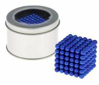 """Антистресс магнит """"Неокуб"""" 216 шариков d=0,5 см (синий)"""
