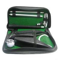 Набор для гольфа Partida c автоматической лузой в кожаном кейсе
