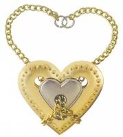 Головоломка Сердце / Cast Puzzle Heart (уровень сложности 4)