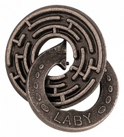 Головоломка Круговой Лабиринт / Cast Puzzle Laby (уровень сложности 5)
