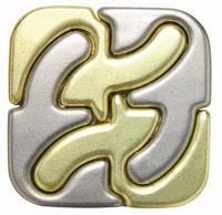 Головоломка Каре / Cast Puzzle Square (уровень сложности 5)