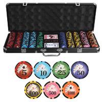 Набор для покера Royal Flush Black на 500 фишек