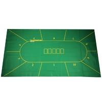 Сукно для покера с разметкой на 10 игроков 180x90x0,2 см