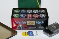 Набор для покера Holdem Light Premium на 200 фишек