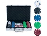 Набор для покера на 200 фишек без номинала