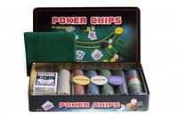 Набор для покера Holdem Light на 300 фишек без номинала